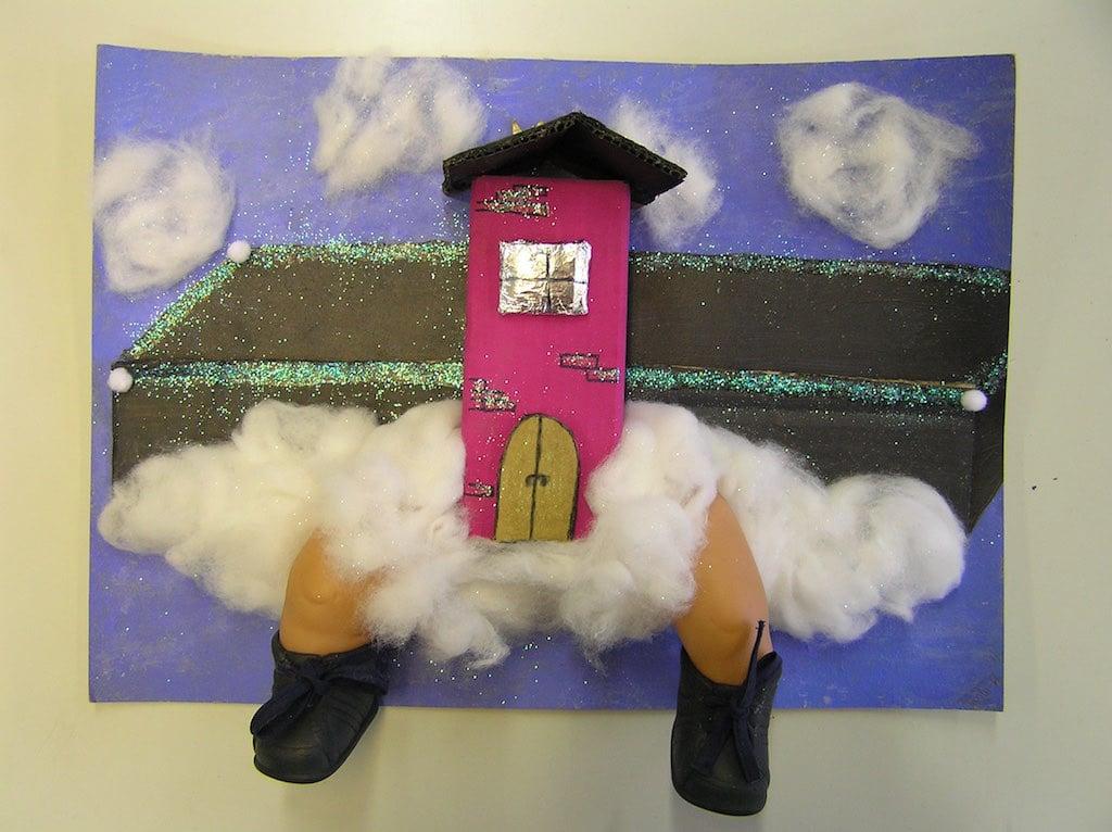Fliegendes Haus