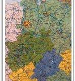 Deutschlandkarte Raum Emsland