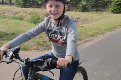 Paul-Fahrrad-fahren