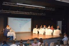 as Plenum bei der offenen Fragerunde