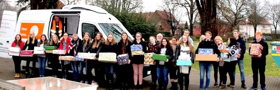 Weihnachtspäckchen-Aktion 2017 zugunsten der Haselünne Tafel